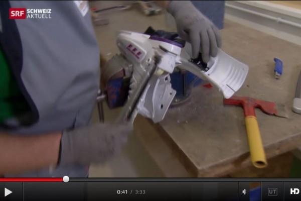 Schweizer Fernsehen berichtet über CREAMELT® TPU-R: Reziklierte Skischuhe für 3D-Drucker